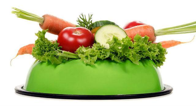 Кормление пекинеса – овощи в рационе
