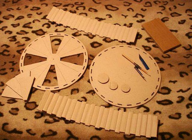 Колесо для хомяка своими руками из картона