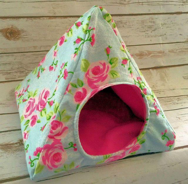 Текстильный домик для морской свинки