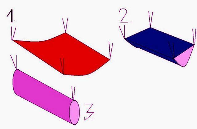 Гамак для декоративной крысы из ткани