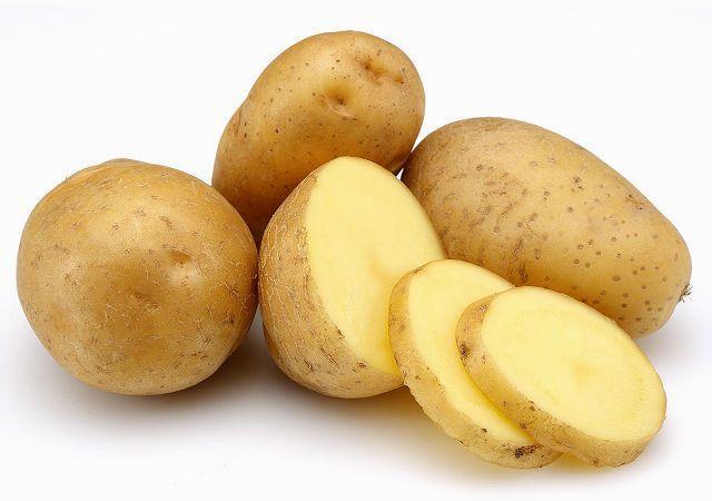 Сырой картофель для кроликов