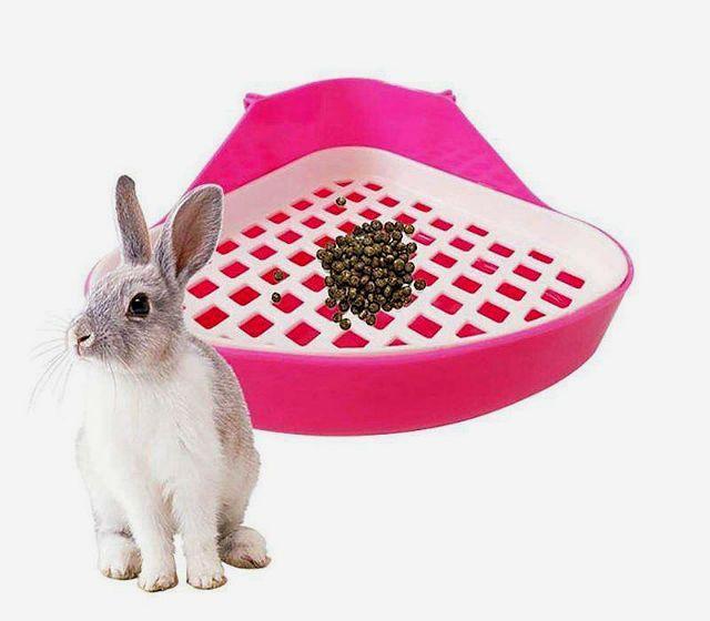 Помет кроликов