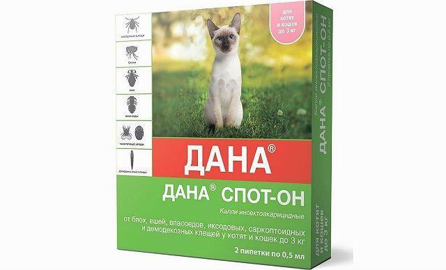 Дана Спот-он для кошек