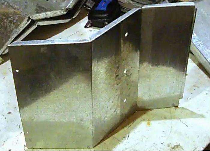 Кормушка заготовка передней стенки