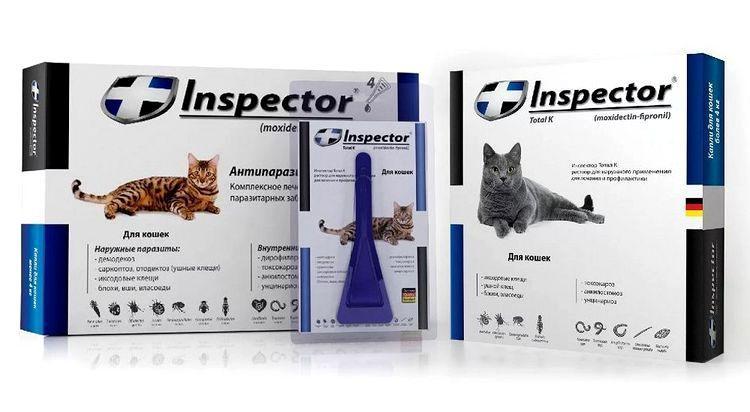Инспектор Тотал для кошек - преимущества