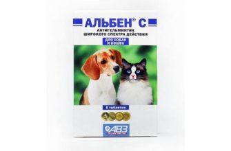 Альбен С для кошек - главное фото