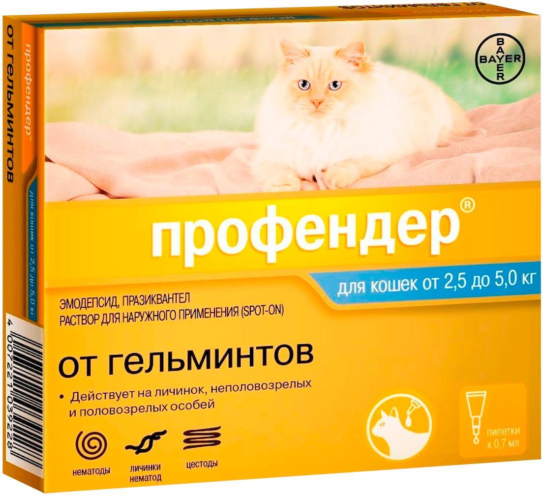 Капли Профендер для кошек - побочные явления