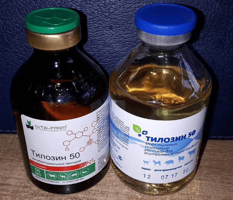 Антибиотик Тилозин для кошек - применение