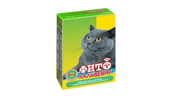 Фитокальцевит для кошек - показания