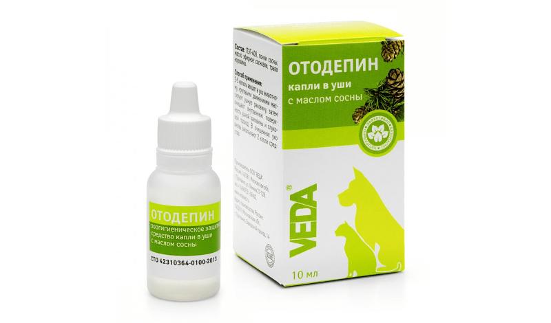 Ушные капли Отодепин - применение