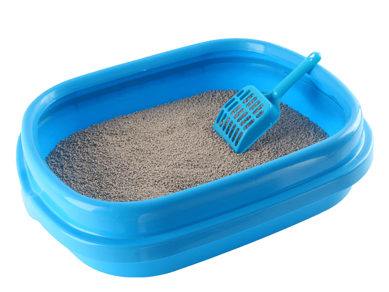 Кошачий туалет с песком