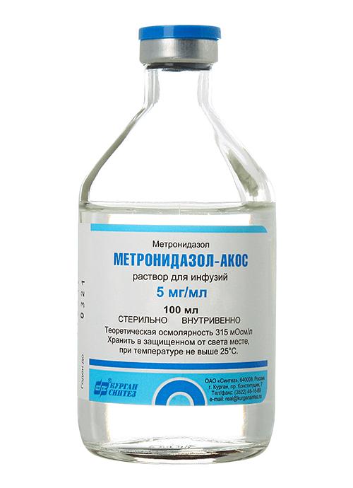 Метронидазол для кошек - раствор
