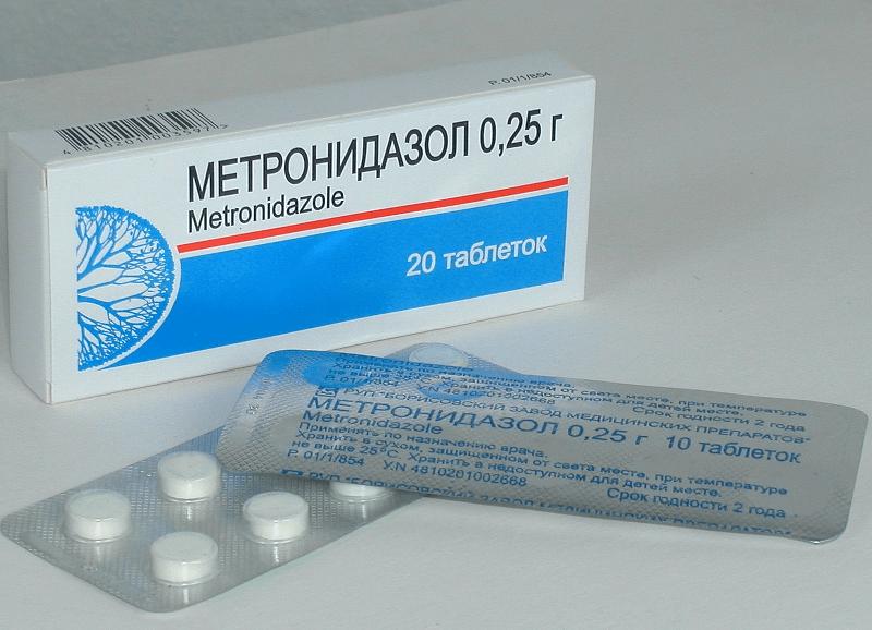 Метронидазол для кошек - принцип действия