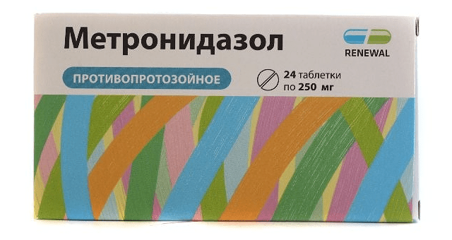 Метронидазол - противопоказания