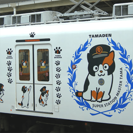 Кошка Тама, которая сделала головокружительную карьеру на железной дороге