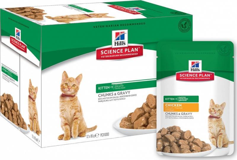 Чем кормить котят - хилс
