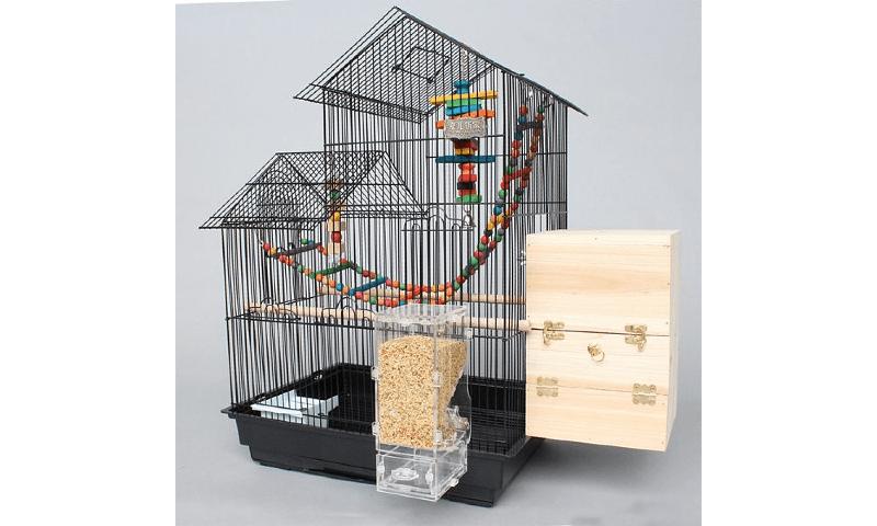 Требования к клеткам для волнистых попугаев