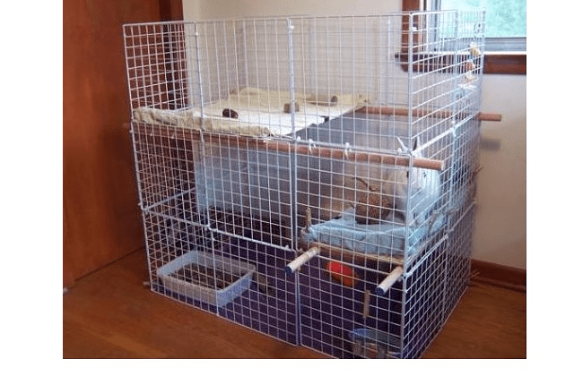 022 - дом для кролика