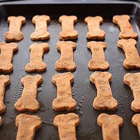 Здоровое питание для собак: косточки из сладкого картофеля