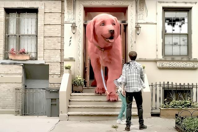 Неожиданная «собачья» кинопремьера или Клиффорд снова на экране